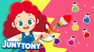 Colory Witch | Learn Colors | Color Songs for Kids | Preschool Songs | KizCastle