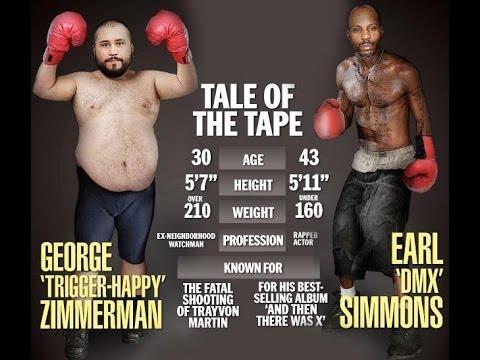 George Zimmerman Vs DMX Fight *CANCELLED*