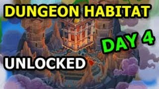 DUNGEON ISLAND Dragon City The Deeps Quest Completed Dungeon Habitat Unlocked DAY 4