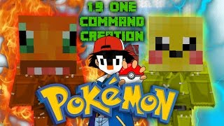 POKéMON | 1.9/1.10 One Command Block Creation: Minecraft