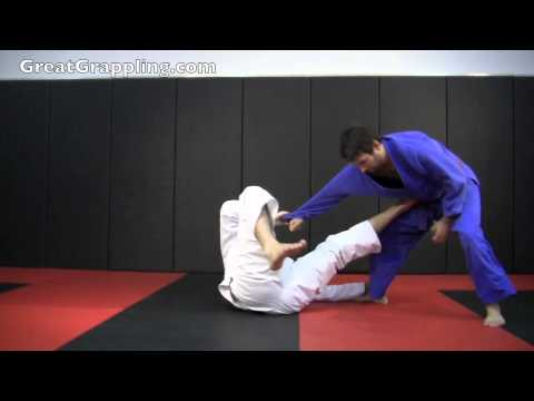 Open Guard Sweep Push Pull Sweep