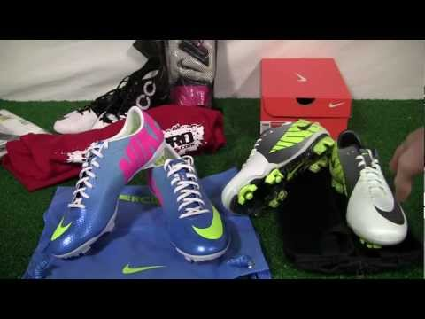 Nike Mercurial Vapor IX - Nike Superfly III Comparison Video Review - SoccerPro.com
