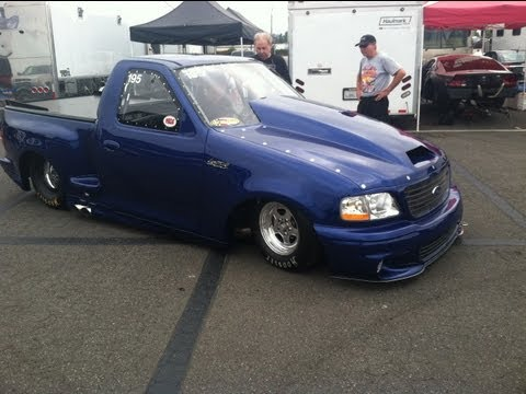JOHN MIHOVETZ  in LIGHTNING at NMCA~POMONA