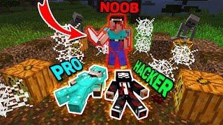 Minecraft NOOB vs PRO vs HACKER : NOOB KILLER KILLS PRO AND HACKER Challenge in Minecraft! Animation