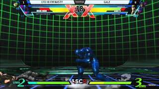 UMvC3 CFD HI IM NASTY VS GALZ - Socal Regionals 2014 - Day 1
