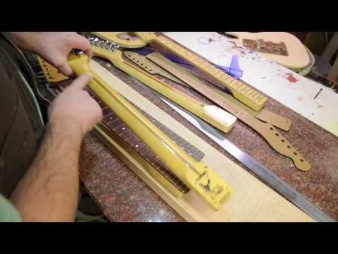 Fender Style Neck construction and neck wood selection