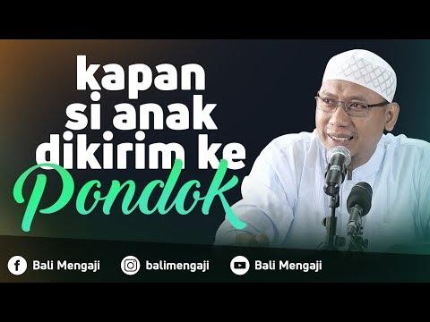 Video Singkat: Kapan Si Anak Di Kirim Ke Pondok - Ustadz Muhammad Ali Abu Ibrahim