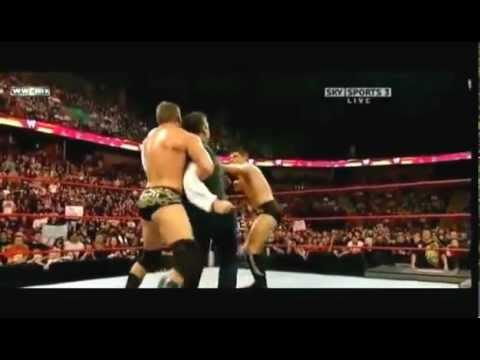 Shane Mcmahon Vs Randy Orton Unsanctioned Fight   Youtubed video