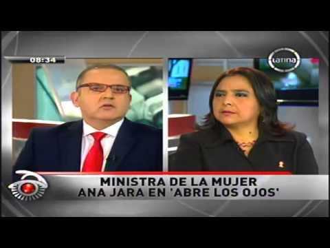 Abre los ojos con Beto Ortiz - Ana Jara Ministra de la Mujer 2/2 - [10/07/13]