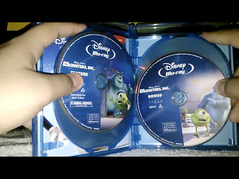 Monsters, Inc. - Five Disc Collector's Edition 3D - Blu-ray Unboxing