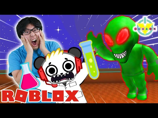 RYAN39S DADDY DOES SPACE EXPERIMENTS IN ROBLOX ! Let39s Play with Combo Panda