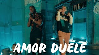 Akim, Lary Over - Amor Duele (Official Music Video)