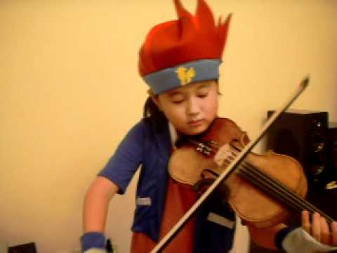 Beyblade Metal Fusion Theme Song Violin video