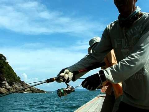 ตีเหยื่อปลอมข้างเกาะ...ปลากระมง!