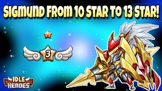 Idle Heroes (P) - Making An E3 Sigmund! - From 10 Star to 13 Star