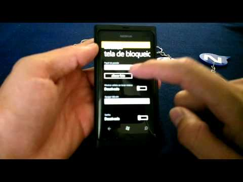 Windows Phone 7.8 no Nokia Lumia 800 by Nokiatividade