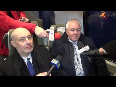 Pendolino w Brzegu 10-12-2017 reportaż