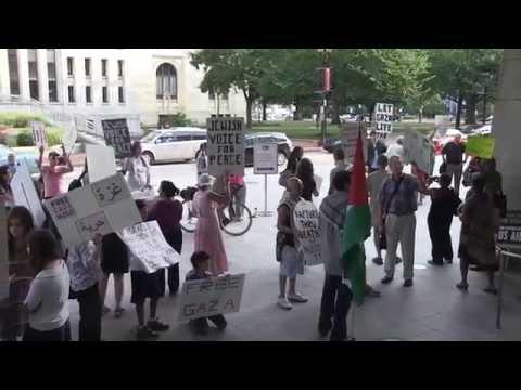 Anti-Israel Protesters: 'U.S.A. Is The Biggest Terrorist Organization'