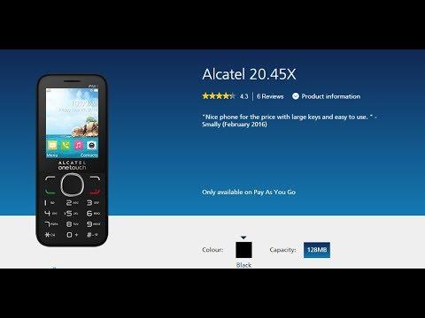 Alcatel 20.45x user manual