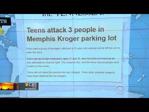 Teens Attack Three People In Memphis Kroger Parking Lot