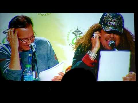 Voice Actors reading Star Wars script panel clip 6