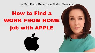 How to Find a Work from Home Job with Apple