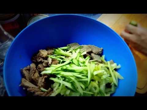 Сочный хе из говядины по корейски