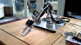 Home Made Robot Servo Arm