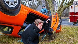 we got into an accident... *actual footage*