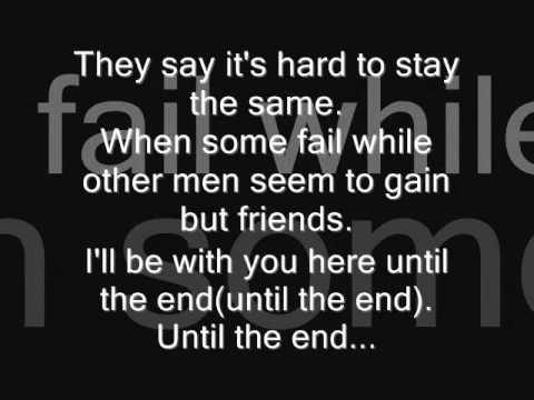Avenged Sevenfold Until The End Lyrics video