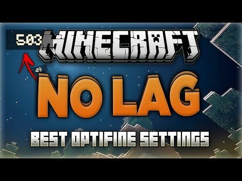 How to Run Minecraft 1.13.2 FAST with NO LAG! - Increase FPS (Best Optifine Settings)