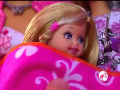 2009 Barbie Pink World Camper Commercial video