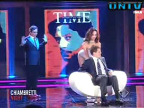 FABIO CAPELLO GETS A LAP DANCE (& looks lost)