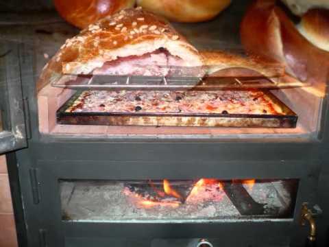 Forno a legna per pizza wwwfornicaesarit agrigento sicilia italiawmv - Forno a legna per pizza casalingo ...