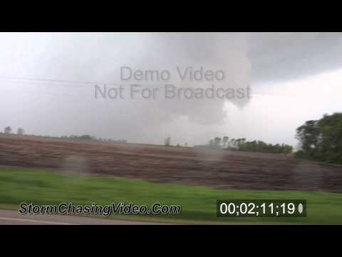 5/28/2011 Hail Storm & Tornado Warned Storm B-Roll Stock Footage