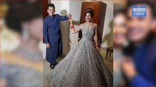 Prince Narula और Yuvika Chaudhary का हुआ वेडिंग रिसेप्शन, Viral हुई Videos