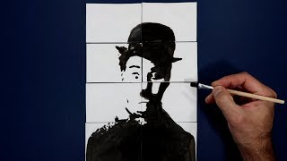 Where is Charlie Chaplin? Magic Trick Art