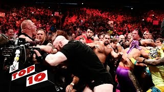 Top 10 Raw moments: WWE Top 10, July 20, 2015