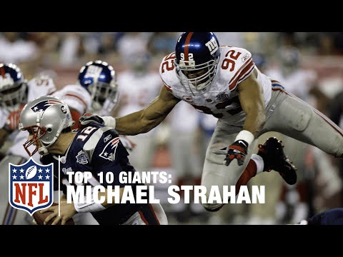 Top 10 Giants: Michael Strahan | NFL