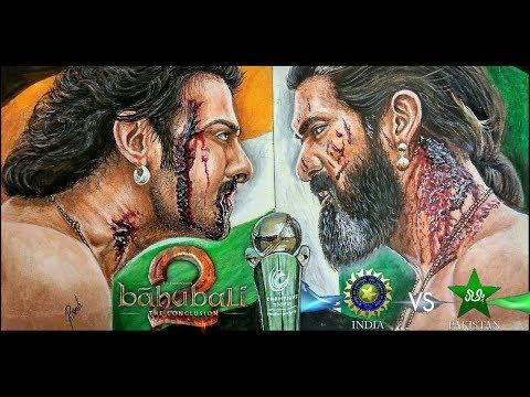 Bahubali 2 | Most amazing Realistic drawing of Prabhas & Rana Duggubutti | Drawing Prabhas |