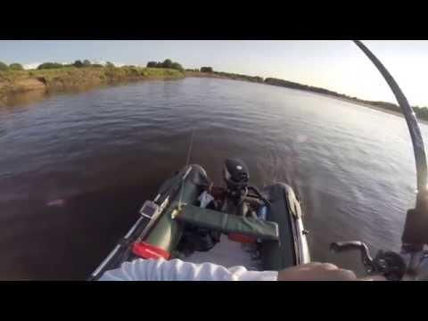 Рыбалка на Вятке НСК 2015