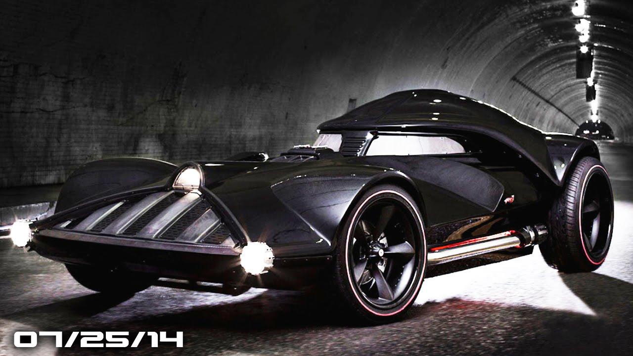 Chrysler Kills 300 Srt Hot Wheels Real Darth Vader Car