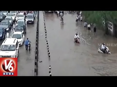 Heavy Rains Hits North And East India, Leaves Normal Life Under Its Effect | V6 News