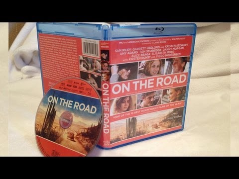 ON THE ROAD Blu-ray Unboxing - (2012) - Kristen Stewart / Garrett Hedlund