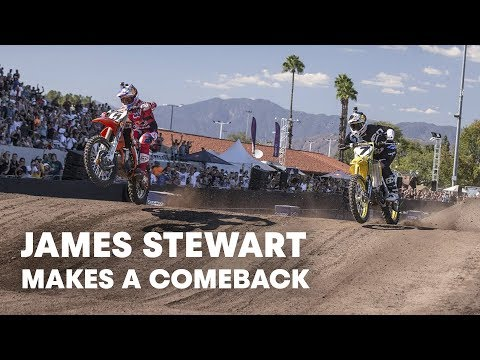 James Stewart Makes a Comeback at Red Bull Straight Rhythm 2015