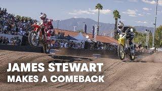 James Stewart Makes a Comeback at Red Bull Straight Rhythm 2015