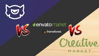 TemplateMonster vs. ThemeForest vs. CreativeMarket | Ultimate Comparison