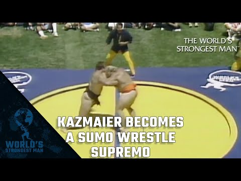 The World's Strongest Man Classics 1982: Kazmaier becomes a Sumo Wrestle supremo