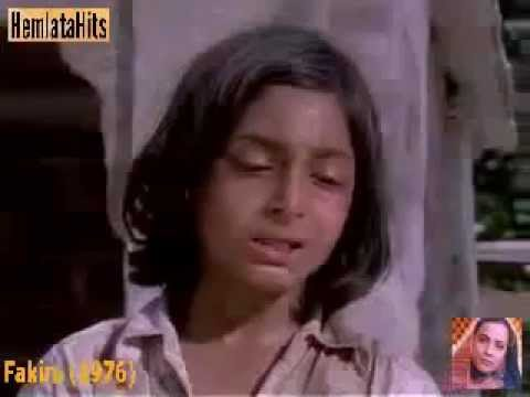 Hemlata - Akela Chal Chala Chal (sad) - Fakira (1976) video