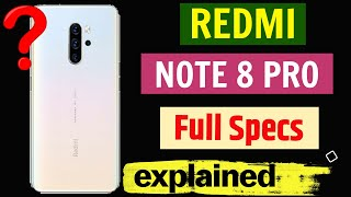 Redmi Note 8 PRO🔥 64 MP Quad Camera | In-Display scanner | sAMOLED Display| Notch | Launch in china